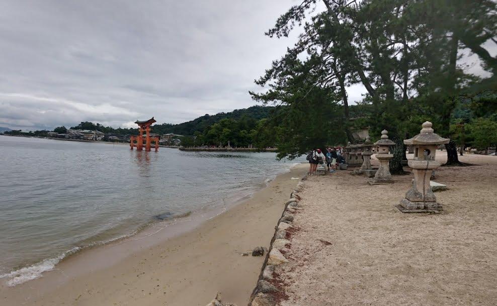 清盛神社沿岸