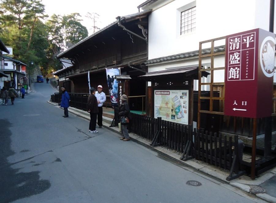 厳島神社から「宮島 歴史民俗資料館」までアクセス・行き方