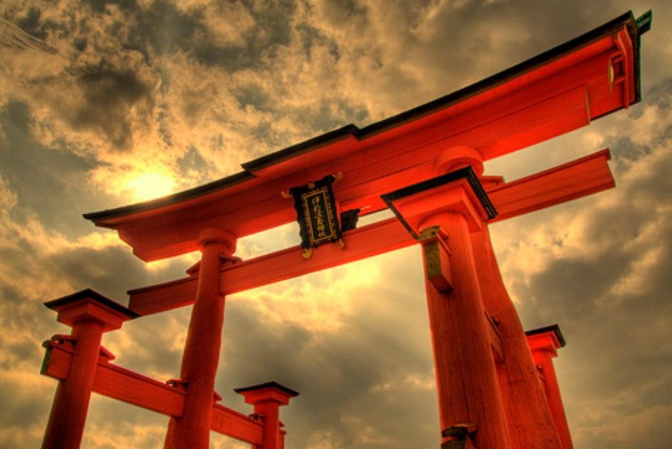 厳島神社の大鳥居の大きさ