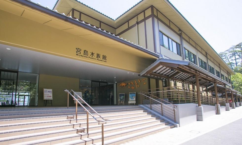 厳島神社から宮島水族館までアクセス・行き方