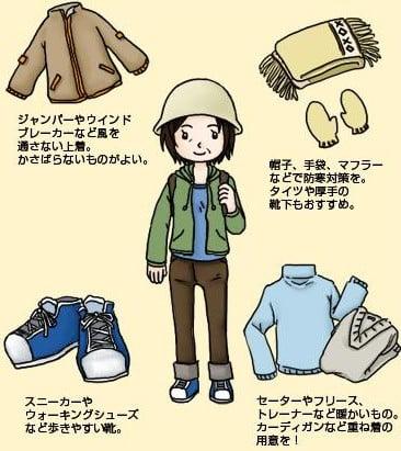 日光東照宮(日光市)の紅葉狩りの際の服装や用意しておくもの(持ち物)
