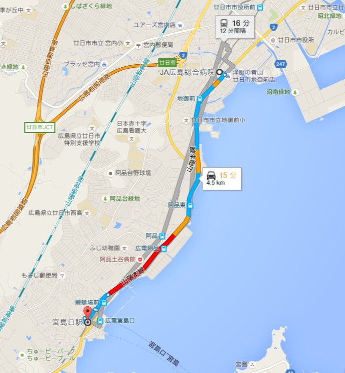 JA広島総合病院・第3駐車場 (2)