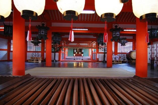 厳島神社・「御本殿」【国宝指定】