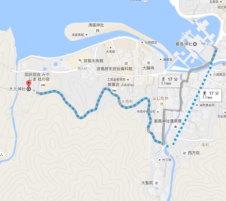 大元神社・厳島神社